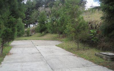 Venta de terreno en la entrada a Fraijanes.