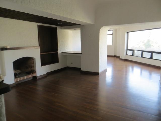 Renta de amplio apartamento con chimenea, Zona 15
