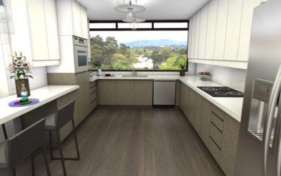 Venta de amplio y re-modelado apartamento en Zona 14