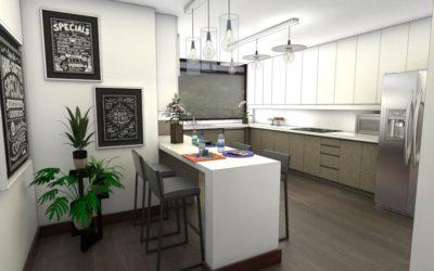 Renta de apartamento remodelado, Zona 14