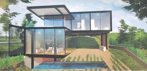 Acacias de Cayalá, terreno+planos de diseño de casa.