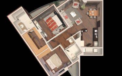 Renta de apartamento en Oakland, Zona 10