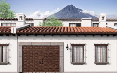 Casa PADUA A, Antigua Guatemala (planos)